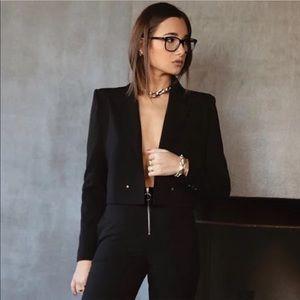 Danielle Bernstein Cropped Blazer NWT
